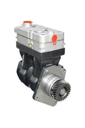 Twin cylinder compressor